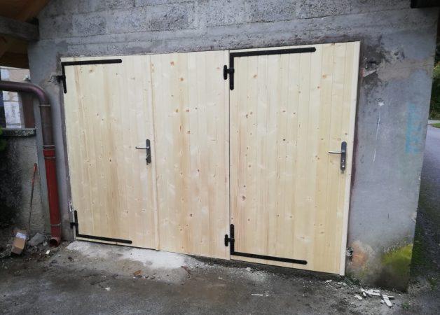 entreprise menuisier artisan Fabrication pose porte garage portail ouverture savoie chautagne Aix les Bains Chambery bugey Belley haute savoie annecy